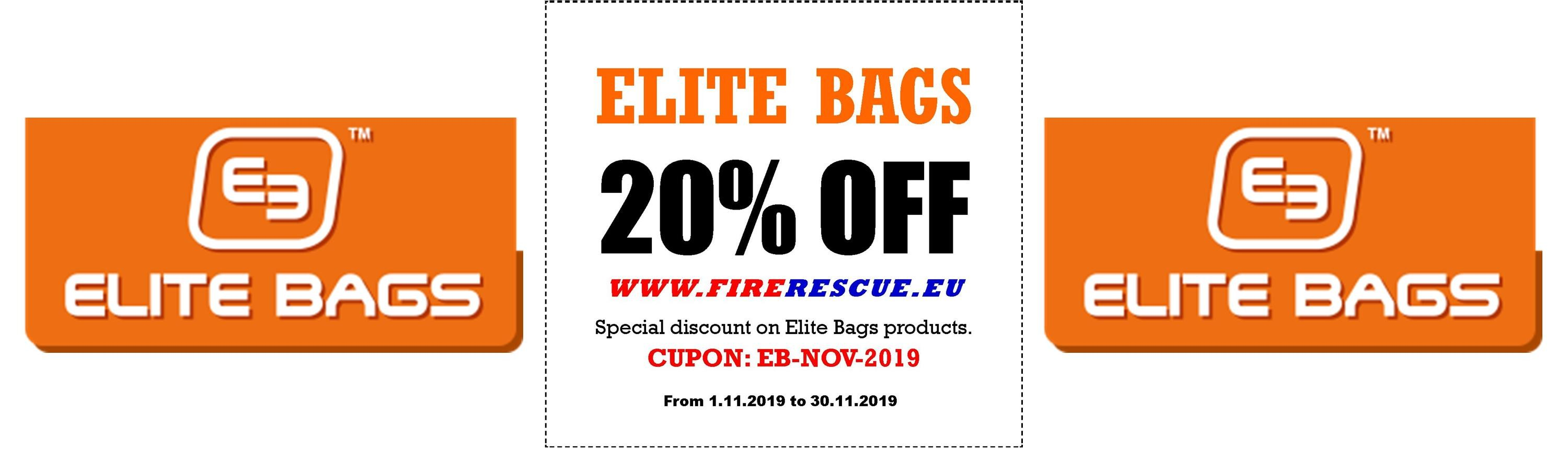 Exclusive 20% discount - Elite Bags